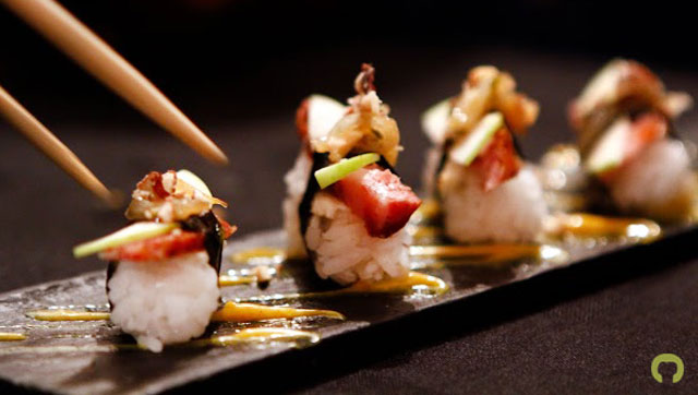 5 pasos de new style of sushi comida fusi n de for Comida vanguardia